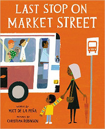 The Last Stop on Market Street book cover