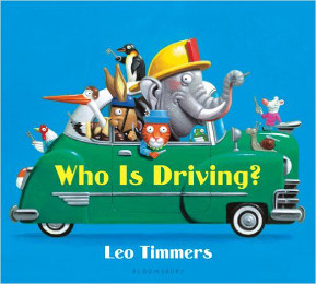Who Is Driving? book cover