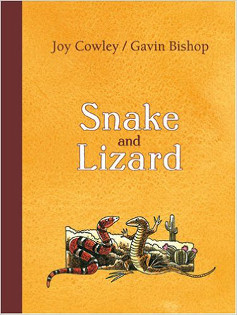 Snake and Lizard book cover