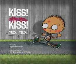 Kiss! Kiss! Yuck! Yuck! book cover