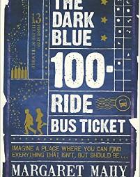 The Dark Blue 100 Ride Bus Ticket