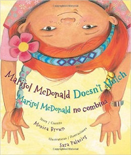 Marisol McDonald Doesn't Match book cover